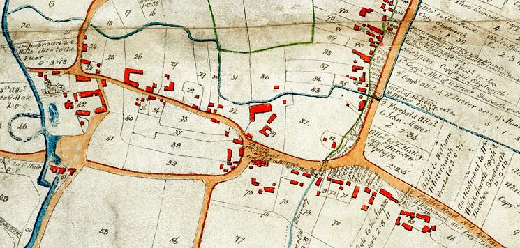 Inclosure Map 1799