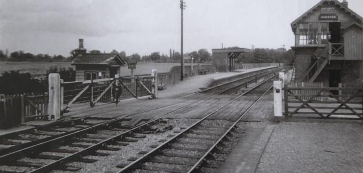 Harston Station 1935