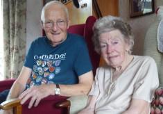 Margaret Gambie (nee Thompson) and husband Bernard (Barnie) memories