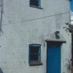 2008 Fountain cottage rear view before renovation; sold Oct 2008 to Mr Wedd | (Deacon)