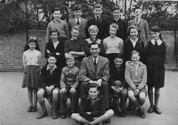 Mr Shoote's Class about 1953-4 | (Arbon)