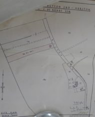 Location of house proposed for J De Bondt, Button End in Dec 1939