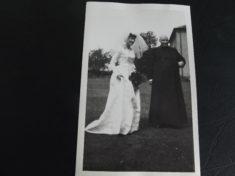 Wendy Farrington's wedding