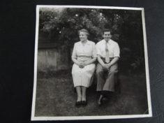 Grace Farrington and son Alan 1950s
