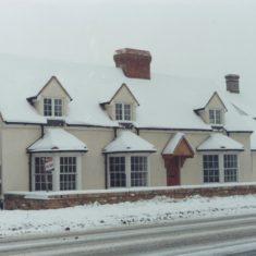 Coach & Horses in snow: 1985-8? | (A Moran)