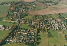 Harston centred on the school