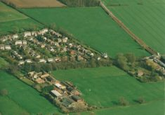 Aerial views of harston