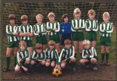 Harston youth football team
