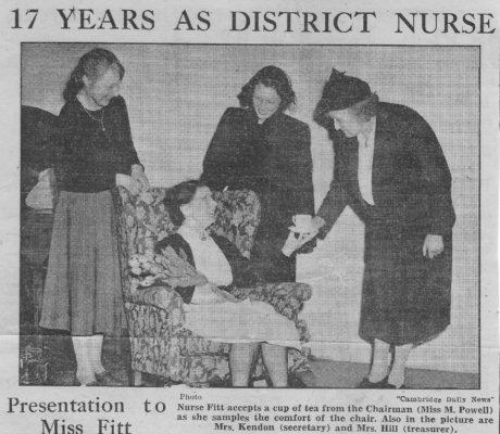 Nurse Fitt retires | (CN)