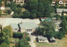 Harston school swimming pool