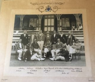 Harold - centre row 2nd from left - played cricket for Cambridge | (E Gershon)