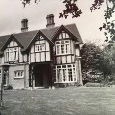 Pinehurst between 1923-33. NB round window gone | (E Gershon)