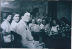 Pye workers at Harston chapel during WW2