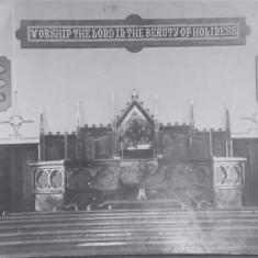 Baptist chapel interior | (Deacon)