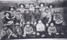 Harston Scouts in 1930s