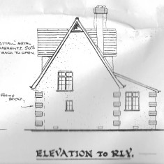 Byeways elevations in 1932 plans
