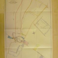 Plan prepared for sale of William Long's Harston Estate 1893 | (Cambridge Archives)