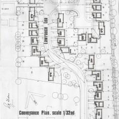 Lawrance Lea conveyance plan 1971 | (Roadley)