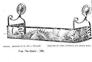 Fender made by James Lawrance 1895 | (Jennie Hall)