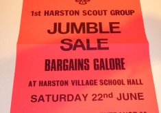 Harston Scout Troop from 1969