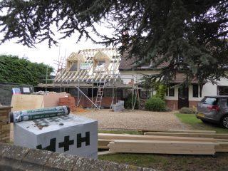 Pinecroft extension in progress Oct 2015 | (Roadley)