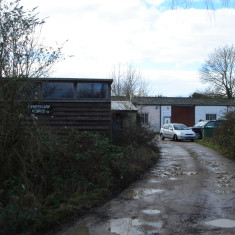 2015. Centenary Works - showroom with workshop behind | (Griffin)