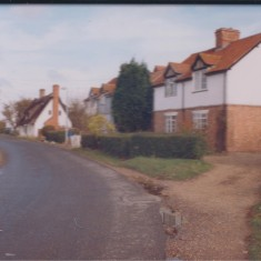 Date Unknown. Nos 1,2,3,& 4 Beech Farm Cottages (right to left) | (Deacon)