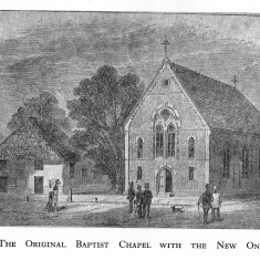 The original & new Baptist Chapels | (Deacon)
