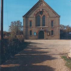 Present Baptist Chapel Chapel Lane 1986 | (Deacon)