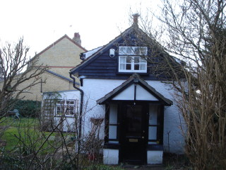 No 5 Church St end porch 2014 and conservatory behind | (Griffin)