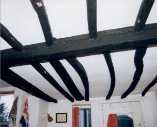 1990 Dormer Cottage showing timber ceiling beams | (M Cash)