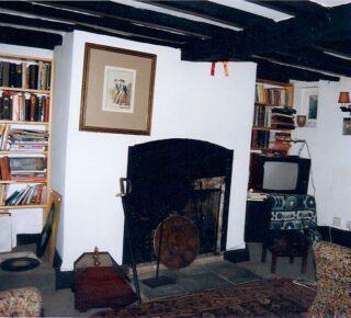 1990 Dormer Cottage fireplace | (M Cash)