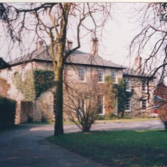 Old Vicarage around 1990s | (Deacon)