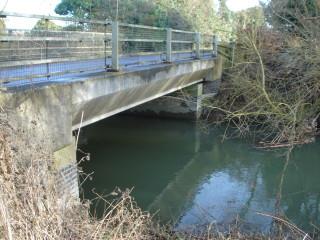 Haslingfield Road bridge 2015 | (Griffin)