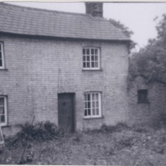 Date unknown. No 103 High St. Once Harston police house. | (Deacon)