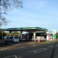 2014.  No 123 High St BP Petrol Station  | (Griffin)
