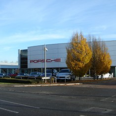 2014. No 140 Porsche Centre Cambridge. | (Griffin)