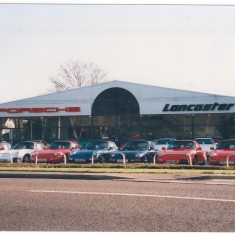 Dec 1994. Porsche replace No 146, before itself being replaced by Aston Martin. | (Deacon)