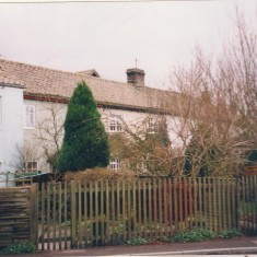 1A Hurrells Row to left projecting in front of rest of terrace 1990s | (Deacon)