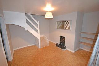 No 5 with modernised spiral staircase, retaining fireplace | on the market.com