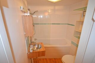 No 5's upstairs bathroom | on the market.com