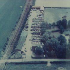 Aerial view of Tanner & Hall post 1976 | (Steve Bowller)