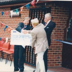 Recreation  Ground Pavilion opening. Sept 1996  | (Deacon)