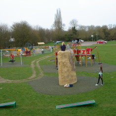 Recreation Ground new play area 2015 | (Griffin)
