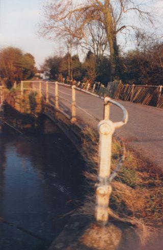 River bridge before replacement 1989 | (Deacon)