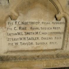 War Memorial Inscription 2014 | (Griffin)