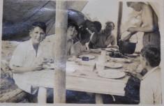 Eaton Socon Scout Summer camp Aug 1938 D Pugsley, B Haylock, F Rayner, K Barker, R S Sturdy, M Barker, R Carter