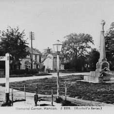 Pump on Memorial Green early C20th | (Pevley)
