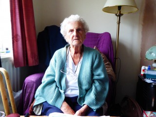 Kath Rayner at home Oct 2015 | (Roadley)