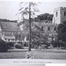 Parish church from vicarage garden | (Deacon)